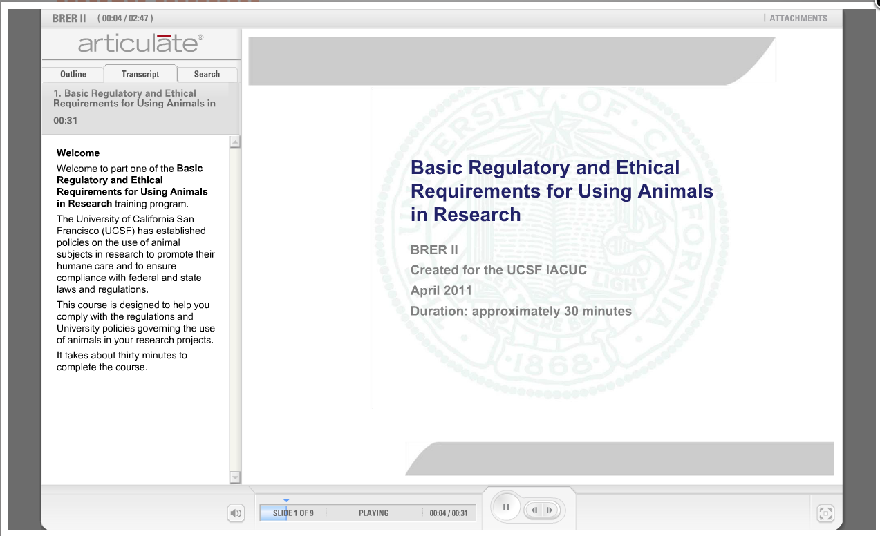 Basic Regulatory and Ethical Requirements for Using Animals in Research