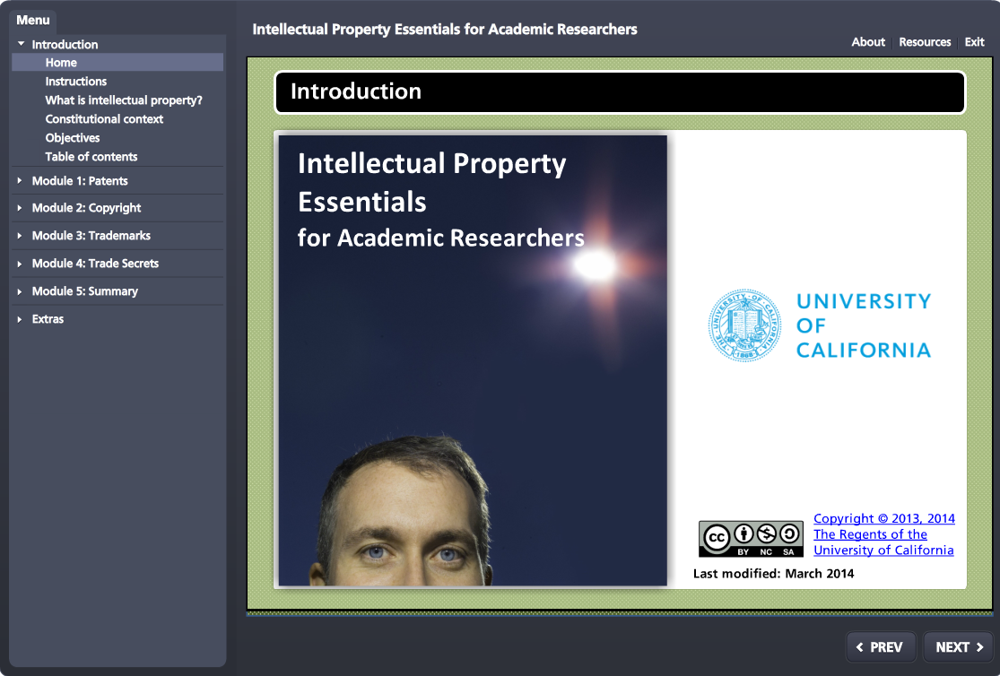 Intellectual Property Essentials for Academic Researchers