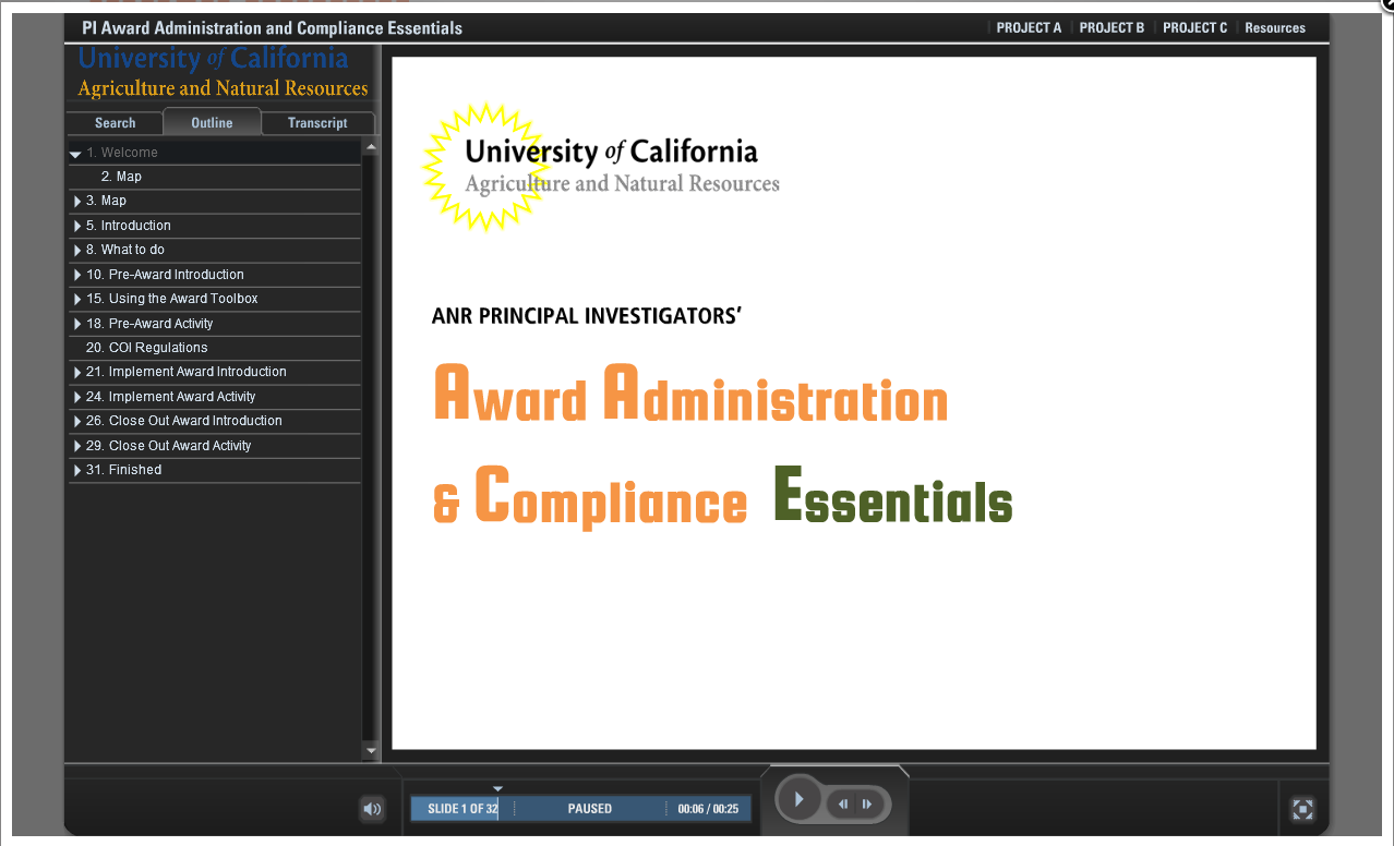 Award Administration and Compliance Essentials