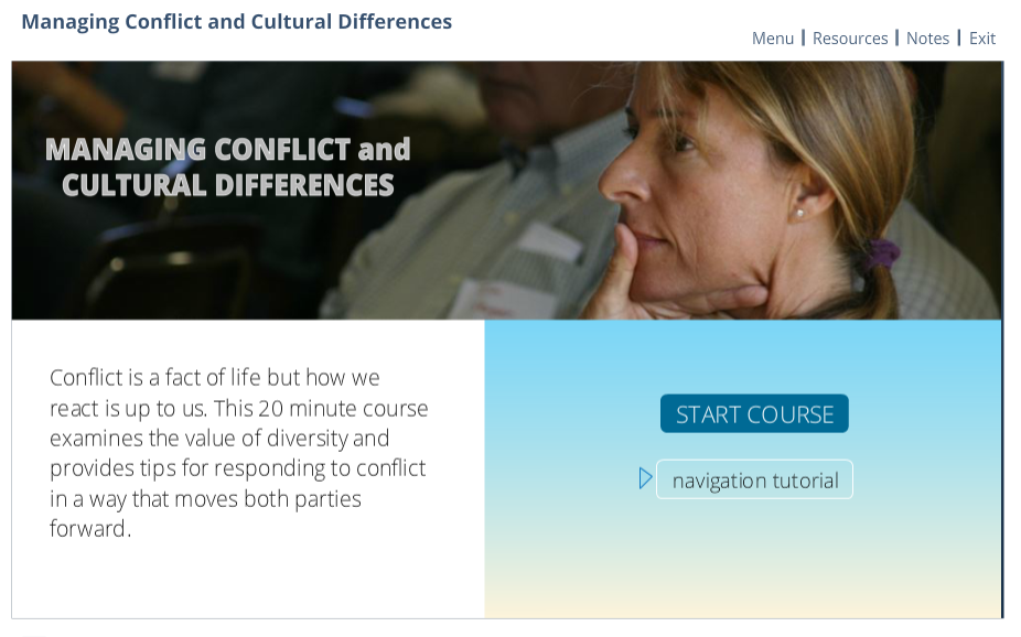 Managing Conflict and Cultural Differences